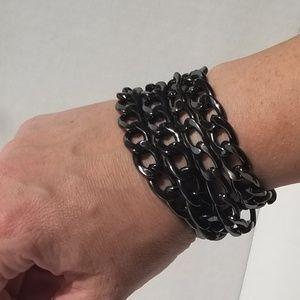 Vintage Magnetic-Closure Bracelet